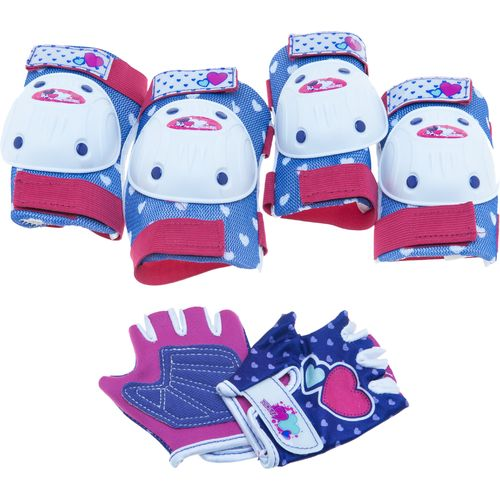 Bell Girls  Riderz Street Shred Pad and Glove Set
