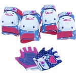 Bell Girls' Riderz Street Shred Pad and Glove Set