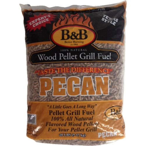 Display product reviews for B&B Pecan Grill Fuel Pellets