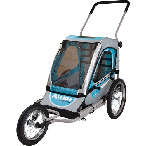 Allen Sports SST1 2-in-1 Hitch-Mounted Bike Trailer/Jogger