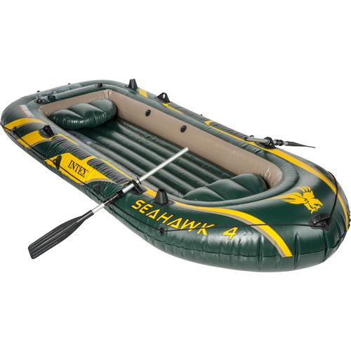 "INTEX® Seahawk 11'7"" Inflatable Boat Set"