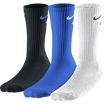 Nike Boys' Graphic Crew Cotton Cushion Socks 3-Pack