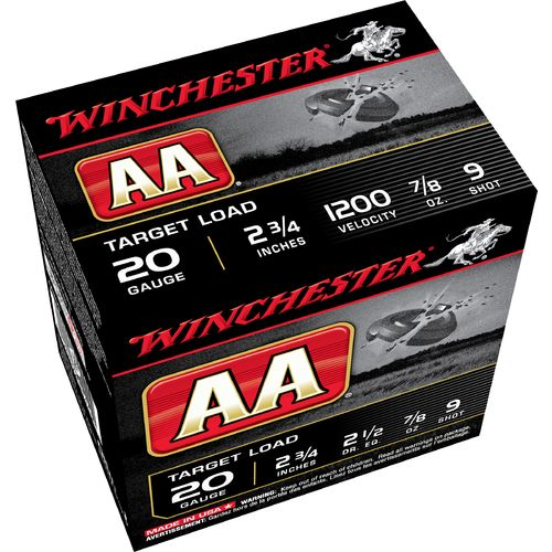 Display product reviews for Winchester AA Target Load 20 Gauge 9 Shotshells
