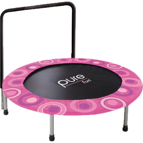 Pure Fun Kids' Super Jumper 4' Round Trampoline