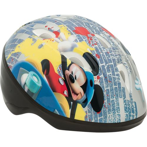 Disney Toddler Boys' Mickey Mouse Little Mouse Rider Bike Helmet