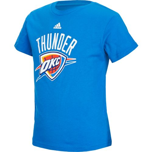 adidas™ Boys' Oklahoma City Thunder Primary Logo T-shirt