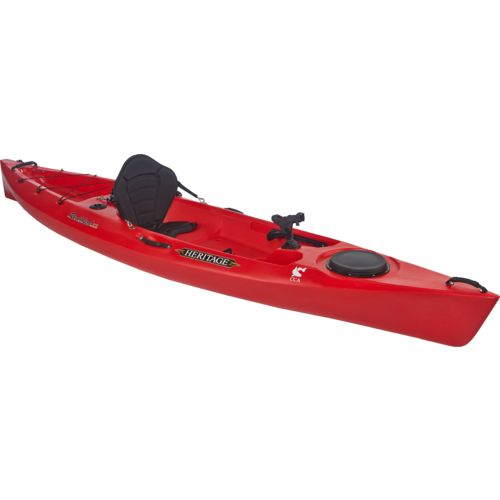 Heritage redfish 12 39 sit on fishing kayak academy for Fishing kayak academy