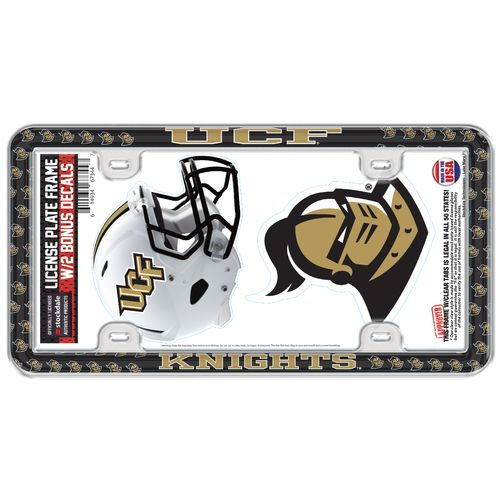 Stockdale University of Central Florida Thin-Rimmed License Plate