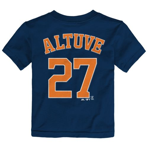 Majestic Boys' Houston Astros José Altuve #27 T-shirt