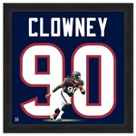 "Photo File Houston Texans Jadeveon Clowney #90 UniFrame 20"" x 20"" Framed Photo"