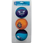Jarden Sports Licensing Kids' Charlotte Hornets Softee Balls 3-Pack - view number 1