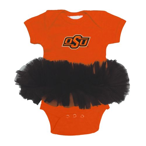 Two Feet Ahead Infant Girls' Oklahoma State University Tutu Creeper