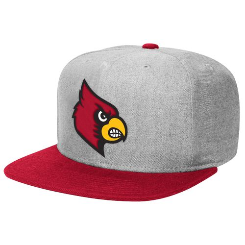 adidas™ Men's University of Louisville Flat Brim Snapback Cap