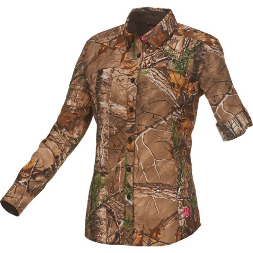 Game Winner® Women's Eagle Pass Realtree Xtra® Deluxe Long Sleeve Shirt