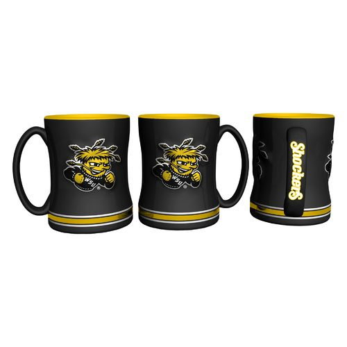 Boelter Brands Wichita State University 14 oz. Relief-Style Coffee Mug