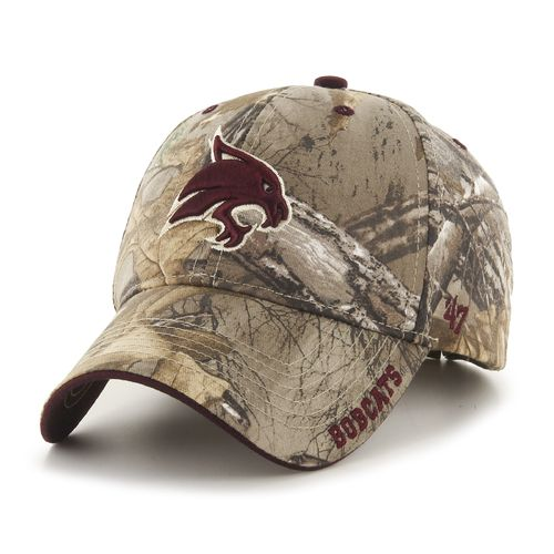 '47 Adults' Texas State University Realtree Frost Camo MVP Cap