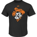 Majestic Men's Oklahoma State University Section 101 Trophy Winner T-shirt