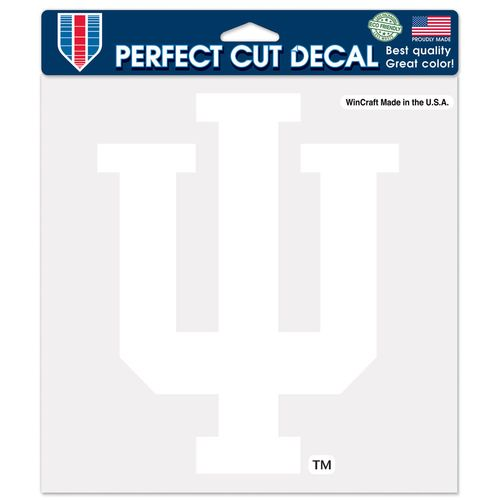 WinCraft Indiana University Perfect Cut Decal
