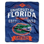 The Northwest Company University of Florida Label Raschel Throw