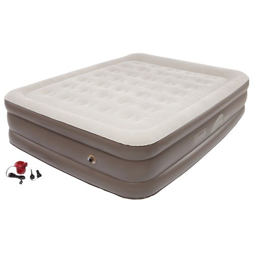 Coleman® QuickBed® Queen-Size Double High Plus Airbed with Pump