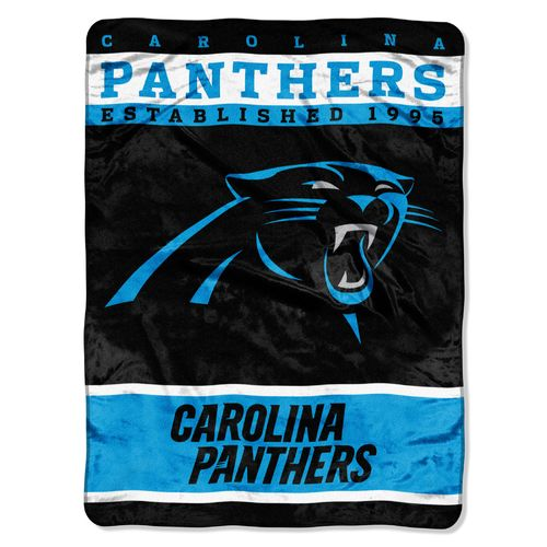The Northwest Company Carolina Panthers 12th Man Raschel Throw