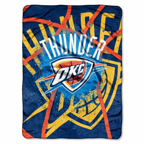 The Northwest Company Oklahoma City Thunder Shadow Play Super Plush Throw - view number 1