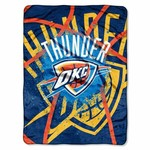 The Northwest Company Oklahoma City Thunder Shadow Play Super Plush Throw