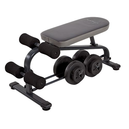 marcy specialty weight bench with 40 lb vinyl dumbbell set view number 3