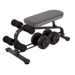 Marcy Specialty Weight Bench with 40 lb. Vinyl Dumbbell Set - view number 3