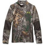 Under Armour® Kids' UA Scent Control Tevo Realtree Xtra® Pullover