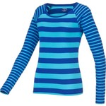 BCG™ Women's Territory Double Stripe Raglan Long Sleeve Crew Neck T-shirt