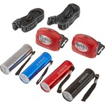 Magellan Outdoors Headlamp and Flashlight Multipack - view number 1