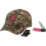 Browning Women's Mossy Oak Break-Up® Country Cap, Knife and Light Combo