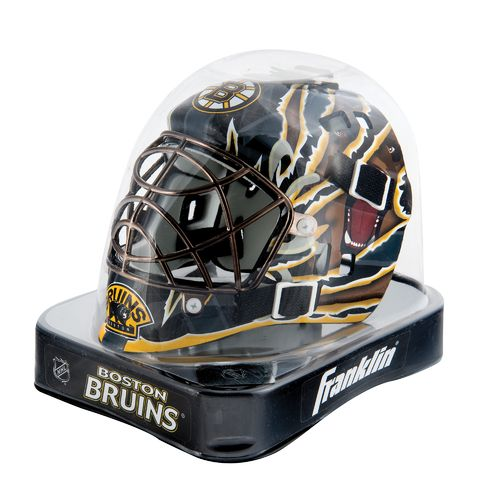 Franklin NHL Team Series Boston Bruins Mini Goalie Mask - view number 2