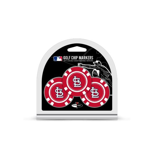 Team Golf St. Louis Cardinals Poker Chip and Golf Ball Marker Set