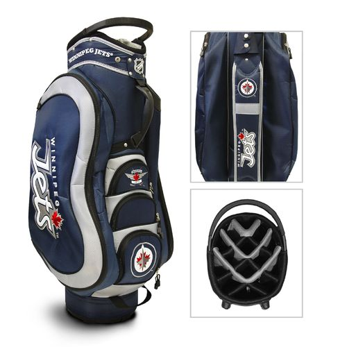 Team Golf Winnipeg Jets Medalist 14-Way Golf Cart