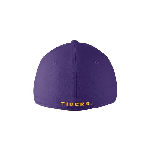 Nike™ Adults' Louisiana State University Swoosh Flex Cap - view number 2