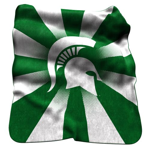Logo™ Michigan State University Raschel Throw