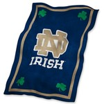 Logo University of Notre Dame Ultrasoft Blanket