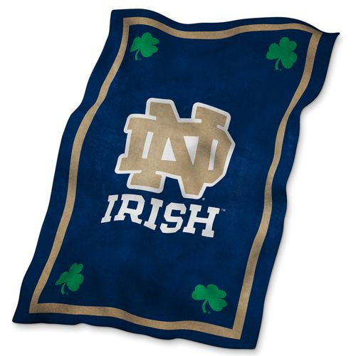 Logo™ University of Notre Dame Ultrasoft Blanket