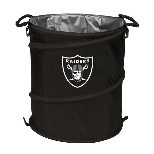 Logo™ Oakland Raiders Collapsible 3-in-1 Cooler/Hamper/Wastebasket