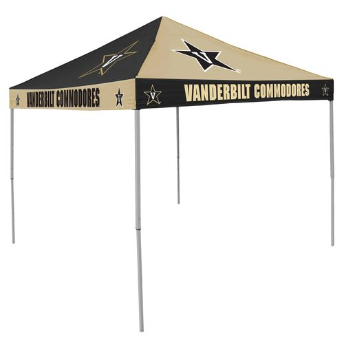 Logo™ Vanderbilt University 9' x 9' Checkerboard Tent - view number 1