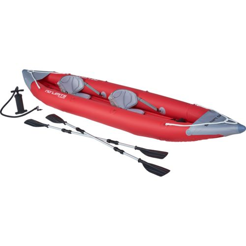 "No Limits Gladewater 12'8"" Inflatable Kayak"