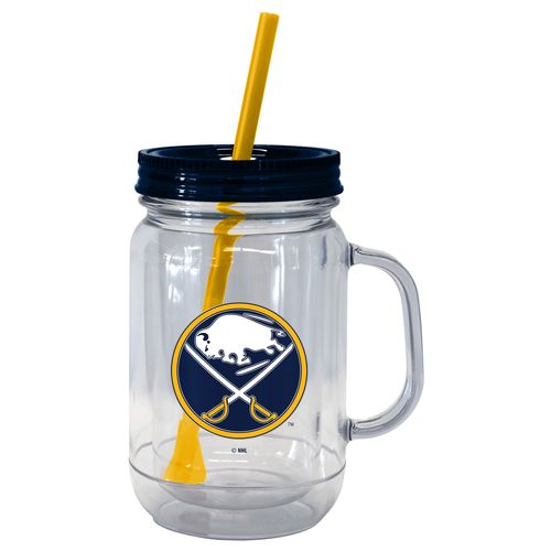 Boelter Brands Buffalo Sabres 20 oz. Handled Straw Tumblers 2-Pack