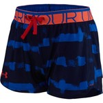Under Armour® Girls' Printed Play Up Short