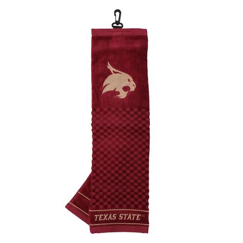Team Golf Texas State University Embroidered Towel