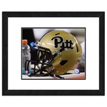 "Photo File University of Pittsburgh Helmet 8"" x 10"" Matted and Framed Photo"