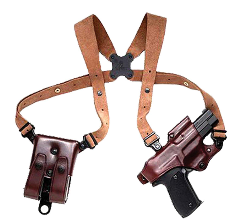 Galco Jackass Browning BDA 45/SIG SAUER Shoulder Holster