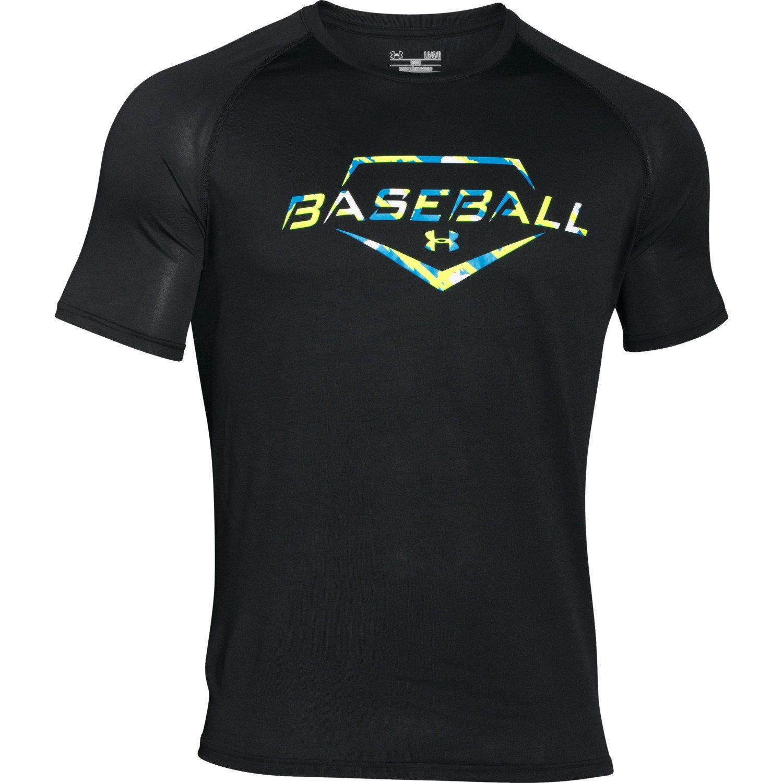 Under armour men 39 s baseball composite camo t shirt academy for Academy under armour shirts