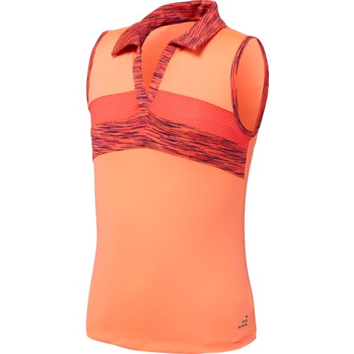 Display product reviews for BCG Girls' Tennis Blocked Polo Tank Top